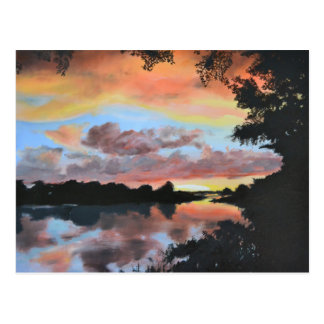 Zambezi River Reflections Postcard