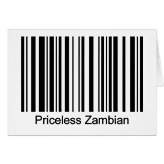 Zambia Card