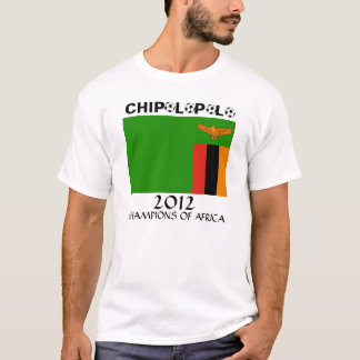 Zambia Chipolopolo African Champs T-Shirt