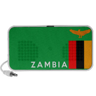 zambia country flag text name portable speakers