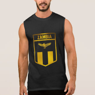 Zambia Emblem Sleeveless Shirt