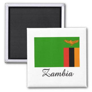 Zambia Flag Design Magnet