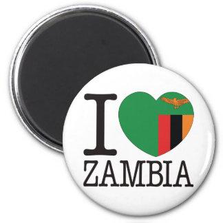 Zambia Love v2 Fridge Magnets