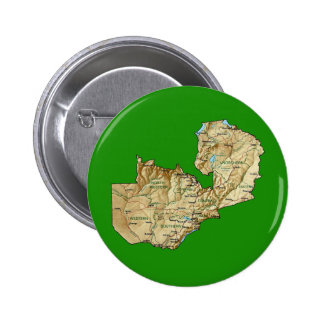Zambia Map Button