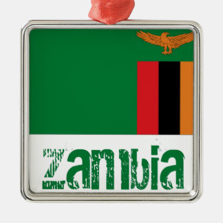 Zambia Metal Ornament