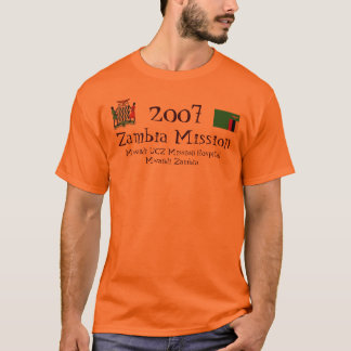 Zambia Mission, 2008 T-Shirt