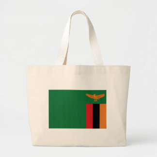 Zambia National Flag Tote Bags