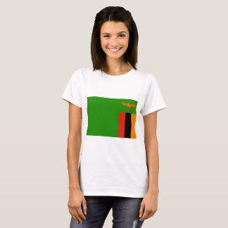 Zambia National World Flag T-Shirt