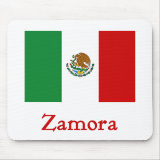 Zamora Mexican Flag Mouse Mat