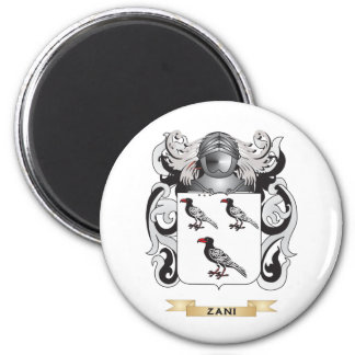 Zani Family Crest Coat of Arms Refrigerator Magnets