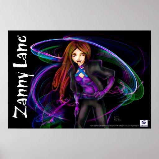 Zanny Lane Poster