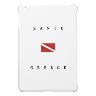 Zante Greece Scuba Dive Flag iPad Mini Cases