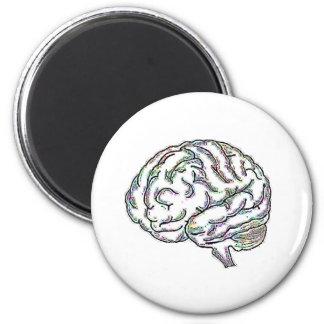 Zany Brainy 6 Cm Round Magnet