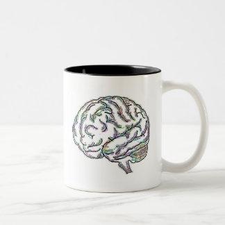 Zany Brainy Two-Tone Mug