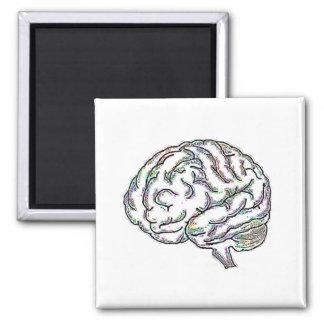 Zany Brainy Square Magnet