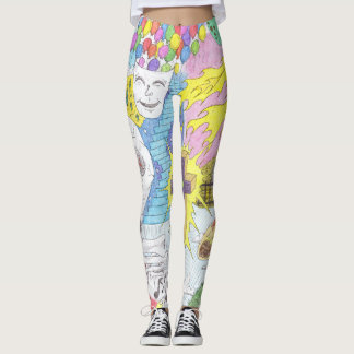 Zany Random Thoughts Leggings