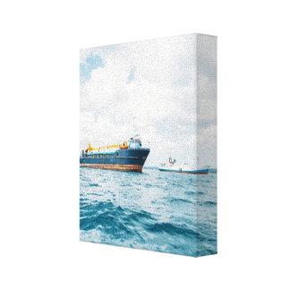 Zanzibari Ships Canvas Print