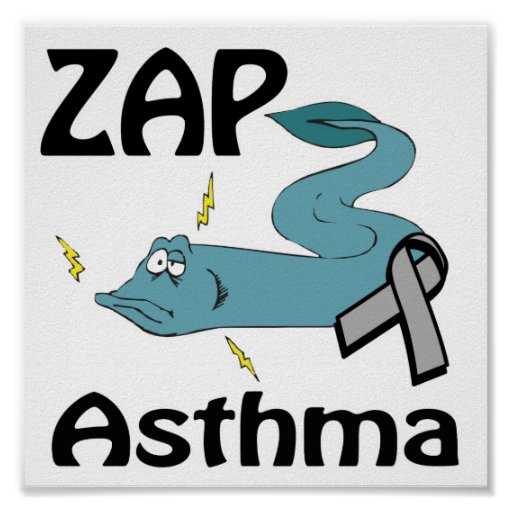 ZAP Asthma Posters