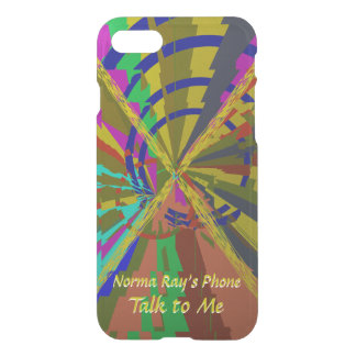 Zap Exciting Abstract with Your Text iPhone 8/7 Case