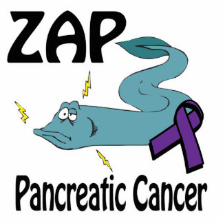 ZAP Pancreatic Cancer Acrylic Cut Outs