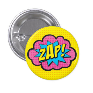 ZAP! Superhero Pin GV2