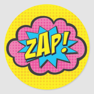 ZAP! Superhero Stickers GV@