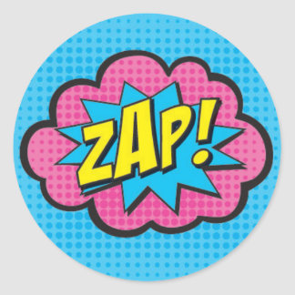 ZAP! Superhero Stickers GV2