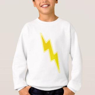 Zap - Yellow Lightning Bolt Sweatshirt
