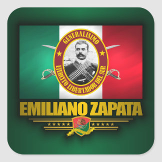 Zapata Square Sticker