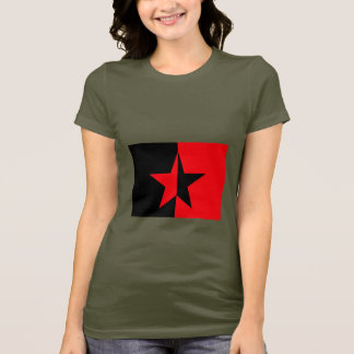 Zapatista of Mexico Design-  Women's Army Green T-Shirt