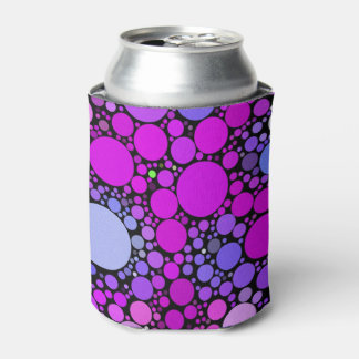 Zappy Bubbles,pink Can Cooler