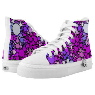 Zappy Bubbles,pink High Tops