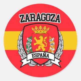 Zaragoza Classic Round Sticker