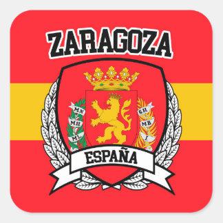 Zaragoza Square Sticker