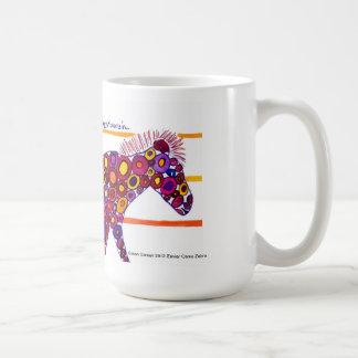Zavier Red Camo Zebra Mug