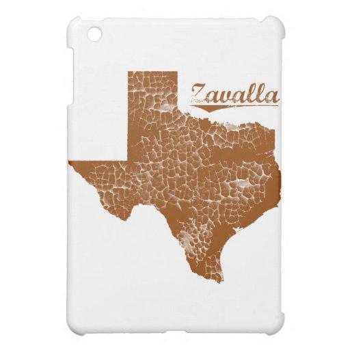 Zavilla, Texas - Distressed State Design iPad Mini Covers