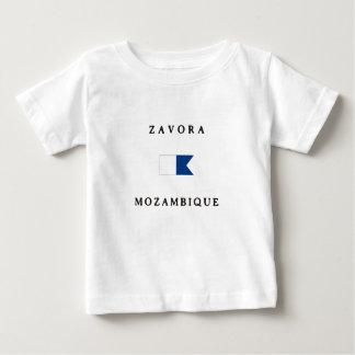 Zavora Mozambique Africa Alpha Dive Flag Baby T-Shirt