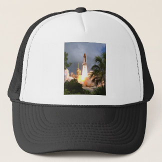ZAZ216 STS57 Launch Trucker Hat