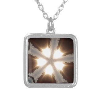 zaz38 silver plated necklace
