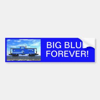 ZAZ420 Blue Caboose Bumper Stickers
