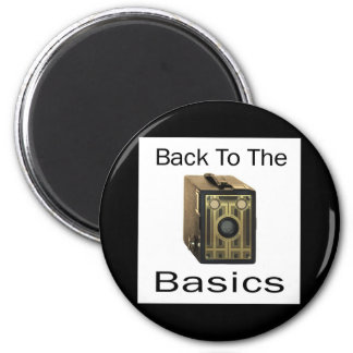 ZAZ424 Back to the Basics 6 Cm Round Magnet