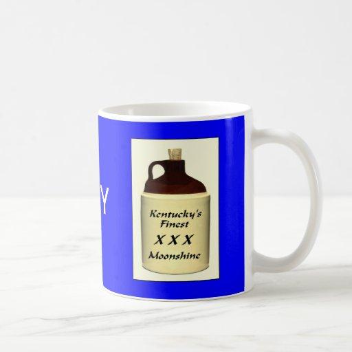 ZAZ428 KY Moonshine Coffee Mugs
