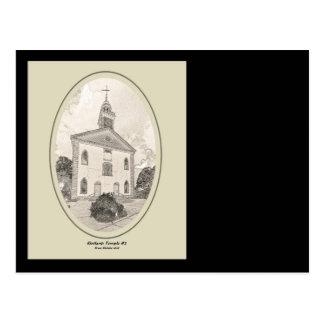 ZAZ435 Kirtland Temple #2 Postcard