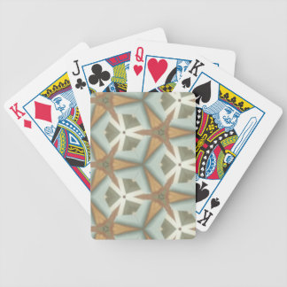 ZAZ Mid Cent Triangle Patt Bicycle Playing Cards