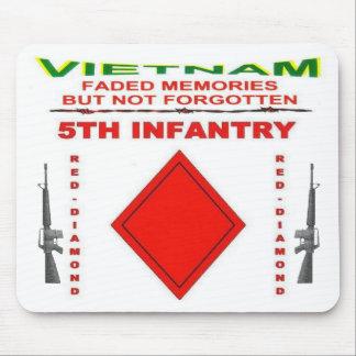 zazv-5tInfantry - Customized Mouse Pad
