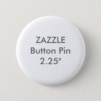 "Zazzle Blank Custom 2 1/4"" Standard Button Pin"