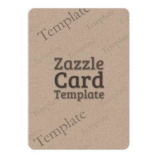 Zazzle Card Custom Template Environmental Invite
