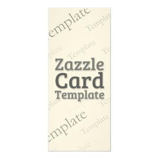 Zazzle Card Custom Template Felt Cream Invitation
