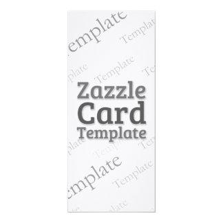 Zazzle Card Custom Template Laid Ivory Invitation