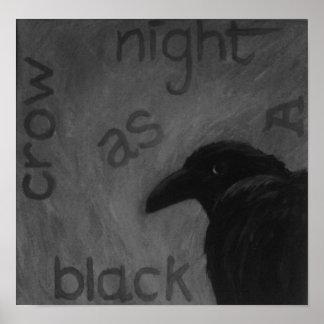 zazzle crow posters